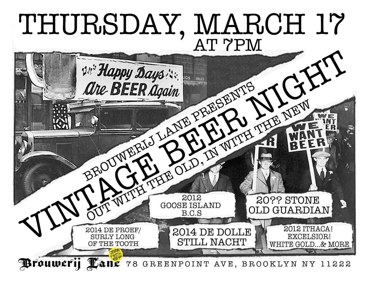 VINTAGE BEER NIGHT